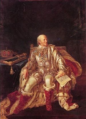 Charles XIII of Sweden - The elderly King Carl XIII