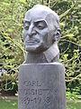 Carl von Ossietzky, Büste von Manfred Sihle-Wissel (1996).JPG