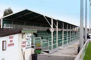 Carlisle Grounds Soccer stadium in Bray, County Wicklow (Ireland)