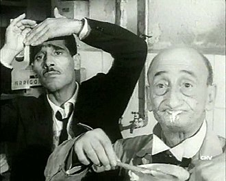 Carlo Pisacane (actor) - Carlo Pisacane (right) with Tiberio Murgia in Audace colpo dei soliti ignoti (1959)