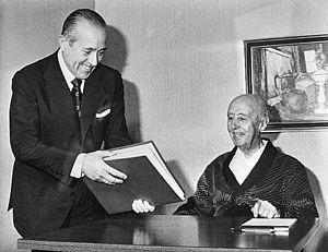Carlos Arias Navarro - Carlos Arias Navarro and Franco in 1975