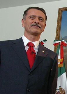 Mexican lawyer and Secretary of the Interior