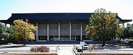 The Carolina Coliseum facing Assembly St.