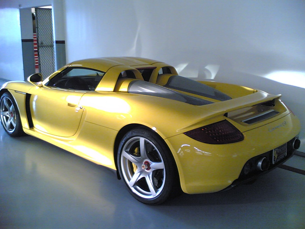 porsche carrera gt wikipedia. Black Bedroom Furniture Sets. Home Design Ideas