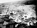 Carrier planes strike Ushi point airfield on Tinian.jpg