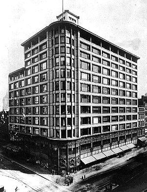 Chicago school (architecture) - Image: Carsons Pirie Scott & Co