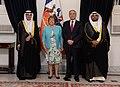 Cartas credenciales de los embajadores de Kuwait y Uruguay (23392801652).jpg