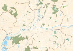 Situo de la mezo sur mapo de Rennes