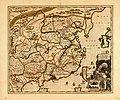 Carte exacte de toutes les provinces, villes, bourgs, villages et rivières du vaste et puissant empire de la Chine - faite par les ambassadeurs hollandois dans leur voyage de Batavia à Peking LOC 87691057.jpg