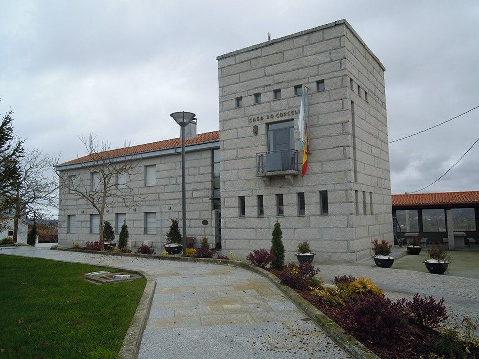 Casa consistorial de Calvos de Randín