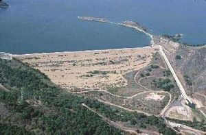 Ventura River - Lake Casitas Dam.