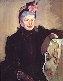 Portrait of an Elderly Lady (1883) by Mary Cassatt