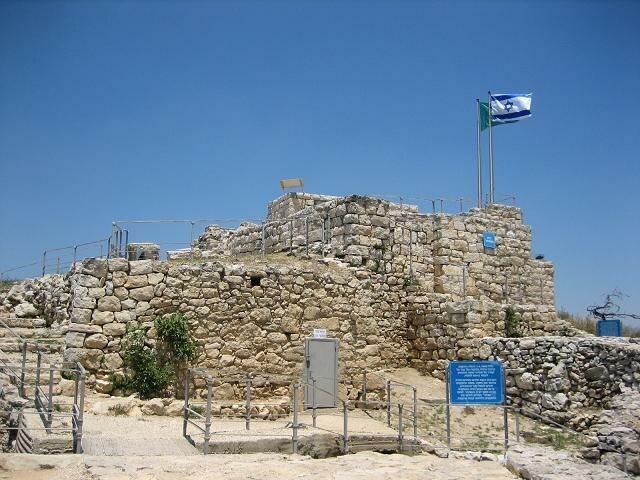 Castel fortress jerusalem