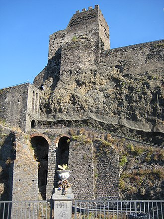Louis, King of Sicily - The castle of Aci, where Louis died