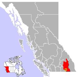 Castlegar, British Columbia, Canada.