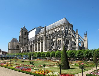 Bourges Cathedral - Cathedral during the day
