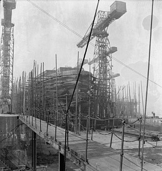 Tyneside - Tyneside shipyards during the Second World War