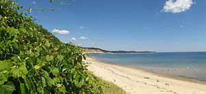 Cedarville, Massachusetts - Cedarville Private Beach by the Cape Cod Bay