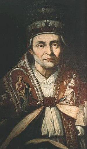 Papal election, 1292–94 - Image: Celestinus quintus