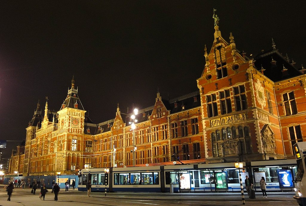 Image result for amsterdam centraal station