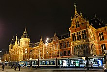 Gare d'Amsterdam Centraal