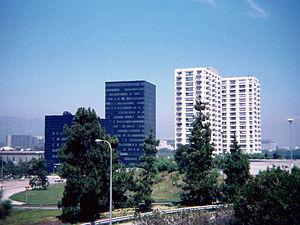 Century City Medical Plaza - Century City Medical Plaza (black towers), 1978.