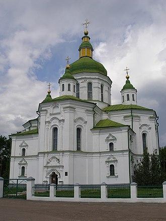 Velyki Sorochyntsi - Transfiguration Church in Velyki Sorochyntsi, 1732