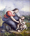 Cesare da Sesto - The Virgin and Child with a Lamb - Google Art Project.jpg