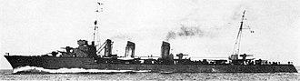 French destroyer Jaguar - Image: Chacal 2