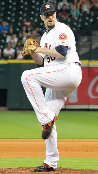 Chad Qualls - Qualls with the Houston Astros in 2014