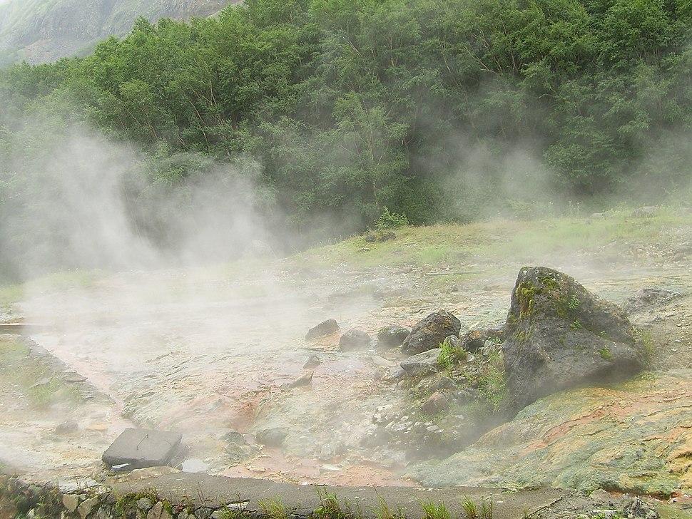 Changbai hotspring