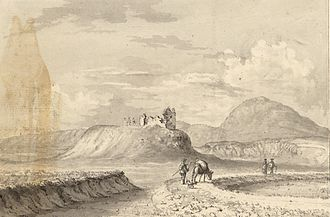 """Frome - """"The Chapel of St Ffraw"""" (Welsh name for Frome), from A Tour in Wales by Thomas Pennant (1726-1798) that chronicle the three journeys he made through Wales between 1773 and 1776."""