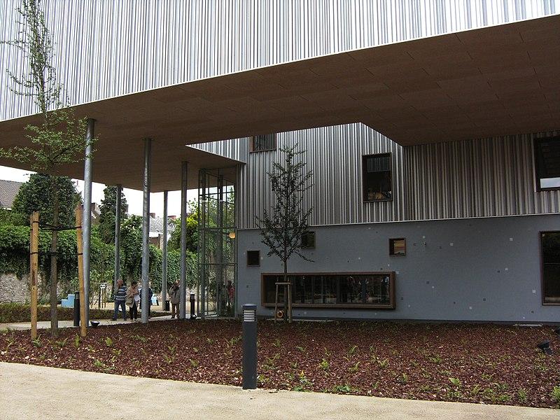 Musée de la photographie à Charleroi - nouvelle aile inaugurée le 1 juin 2008