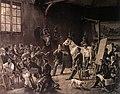 Charles Beyer l'atelier d'Horace Vernet 1832.jpg