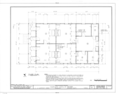 Charles Lavalle House, 203 East Church Street (moved from 111 West Government Street), Pensacola, Escambia County, FL HABS FLA,17-PENSA,13- (sheet 2 of 6).png