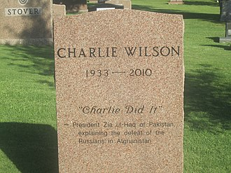 Charlie Wilson (Texas politician) - Wilson cenotaph at the Texas State Cemetery in Austin, Texas