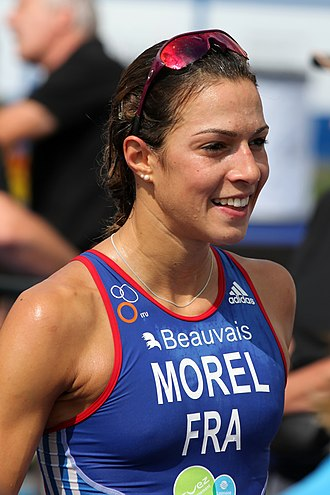 Charlotte Morel - Morel at the Military World Championship, 2012.