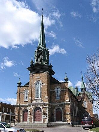 Charny, Quebec - Church