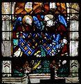 Chartres-Chapelle Vendôme-Armes-Jean de Bourbon, Catherine de Vendôme.jpg