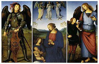 <i>Certosa di Pavia Altarpiece</i> altarpiece by Pietro Perugino
