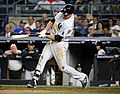 Chase Headley during game against Dodgers 9-13-16 (2).jpeg