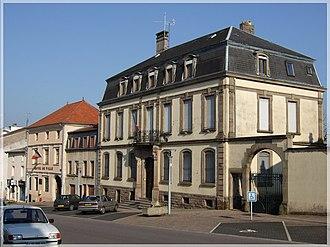 Château-Salins - Town hall