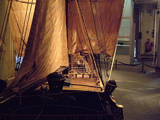 Chatham Historic Dockyard - Model of HMS Victory, on display in the Museum of the Royal Dockyard.