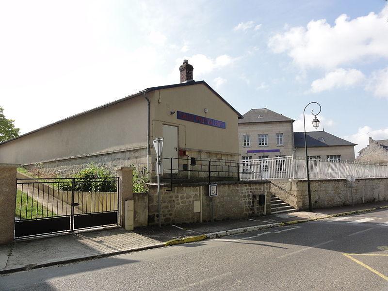 Chaudun (Aisne) salle polyvalente