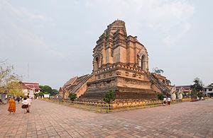 Wat Chedi Luang - Chedi Luang in 2013