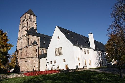 Chemnitz, Schloßbergmuseum und Schloßkirche
