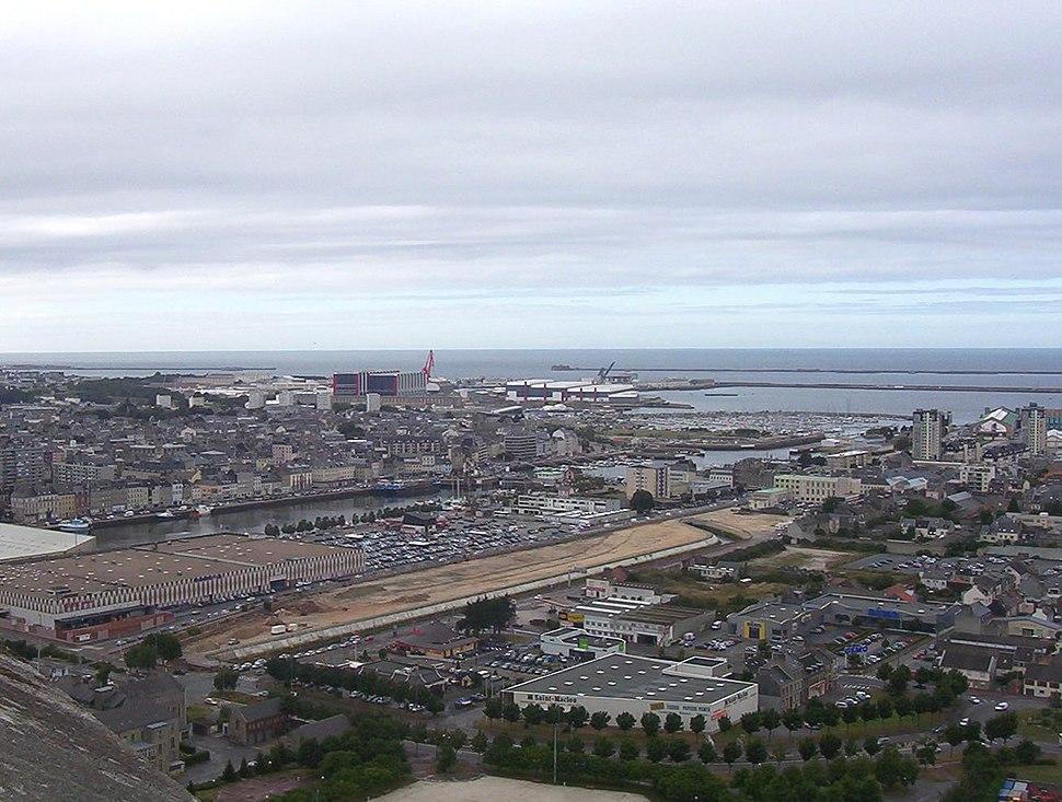 Cherbourg-vuegenerale