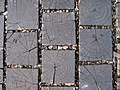 Chestnut wood block pavement at Obuse (Pattern).jpg
