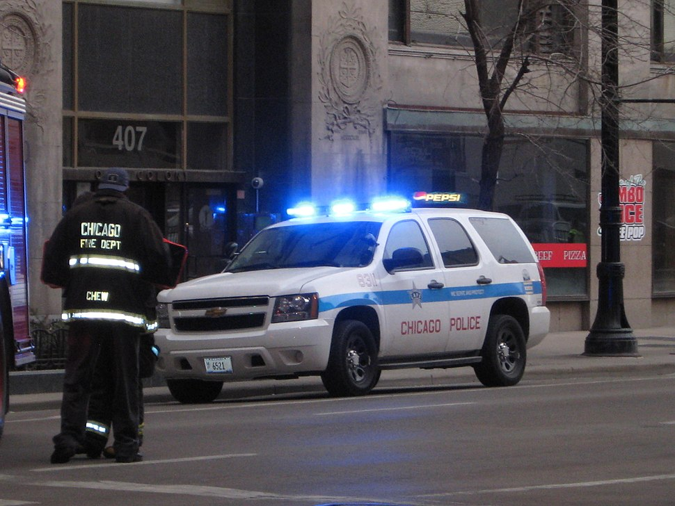 Chicago Police SUV