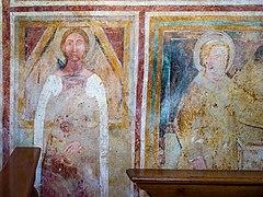 Chiesa di San Giorgio Santi parete Ovest Manerba del Garda.jpg